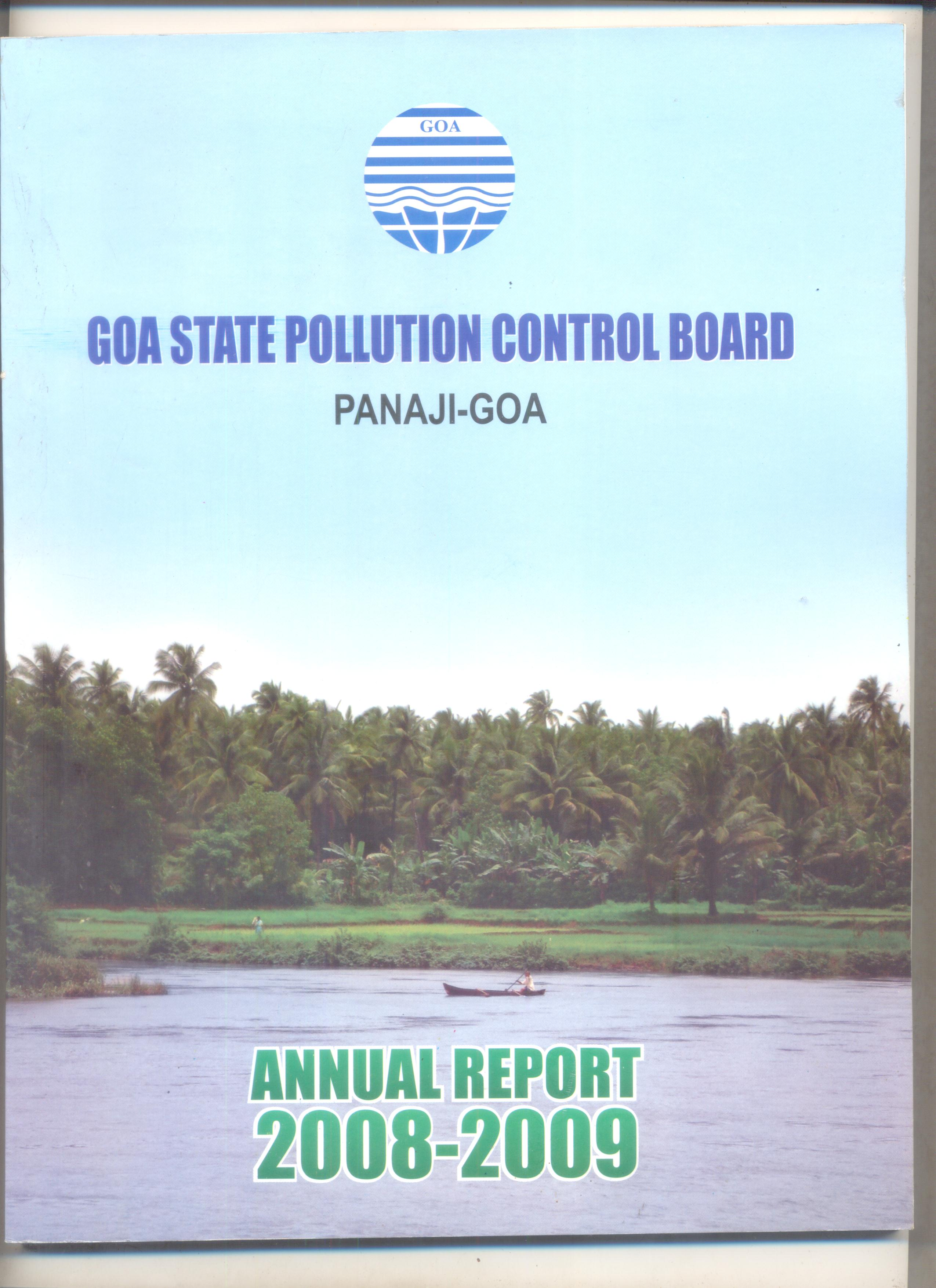 Annual 2008-09 Cover Page