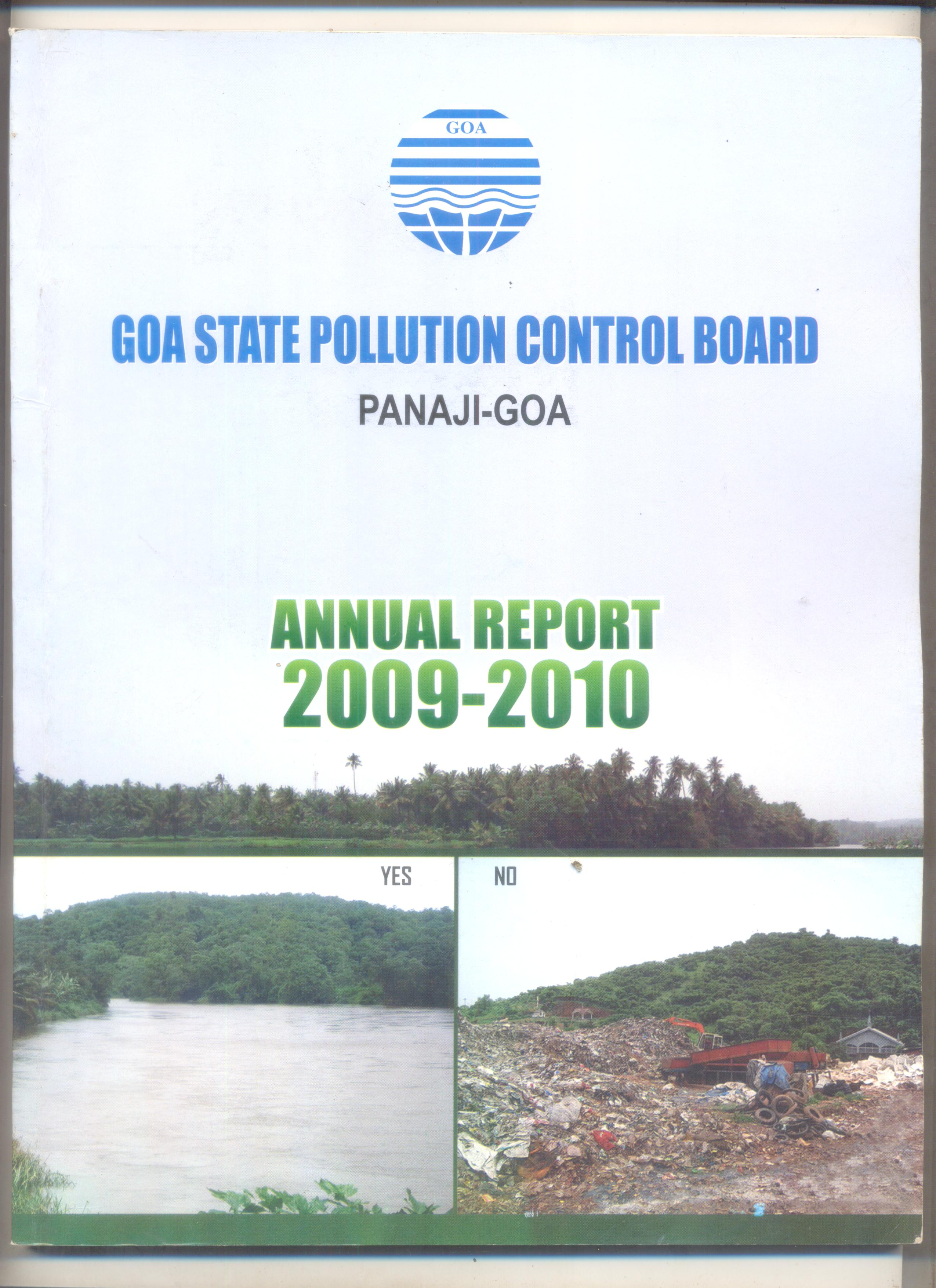 Annual 2009-10 Cover Page