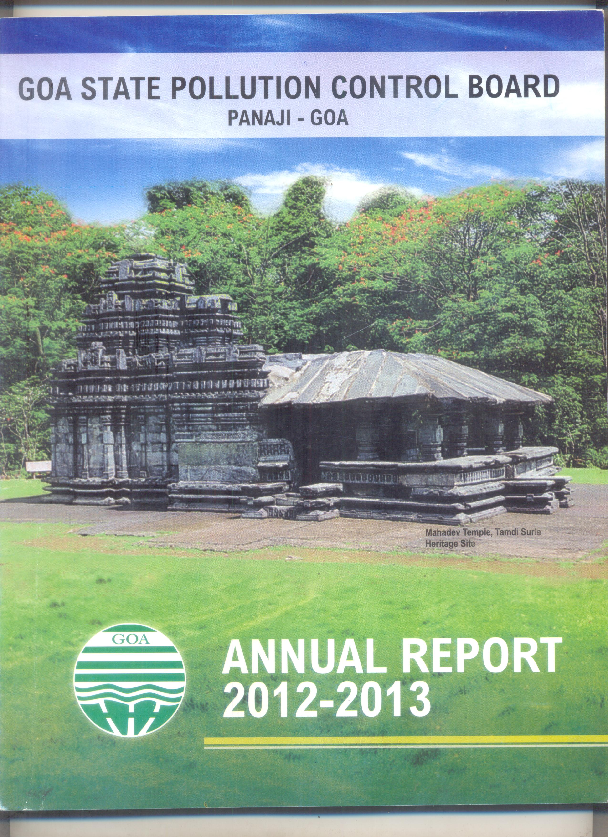 Annual 2012-13 Cover Page