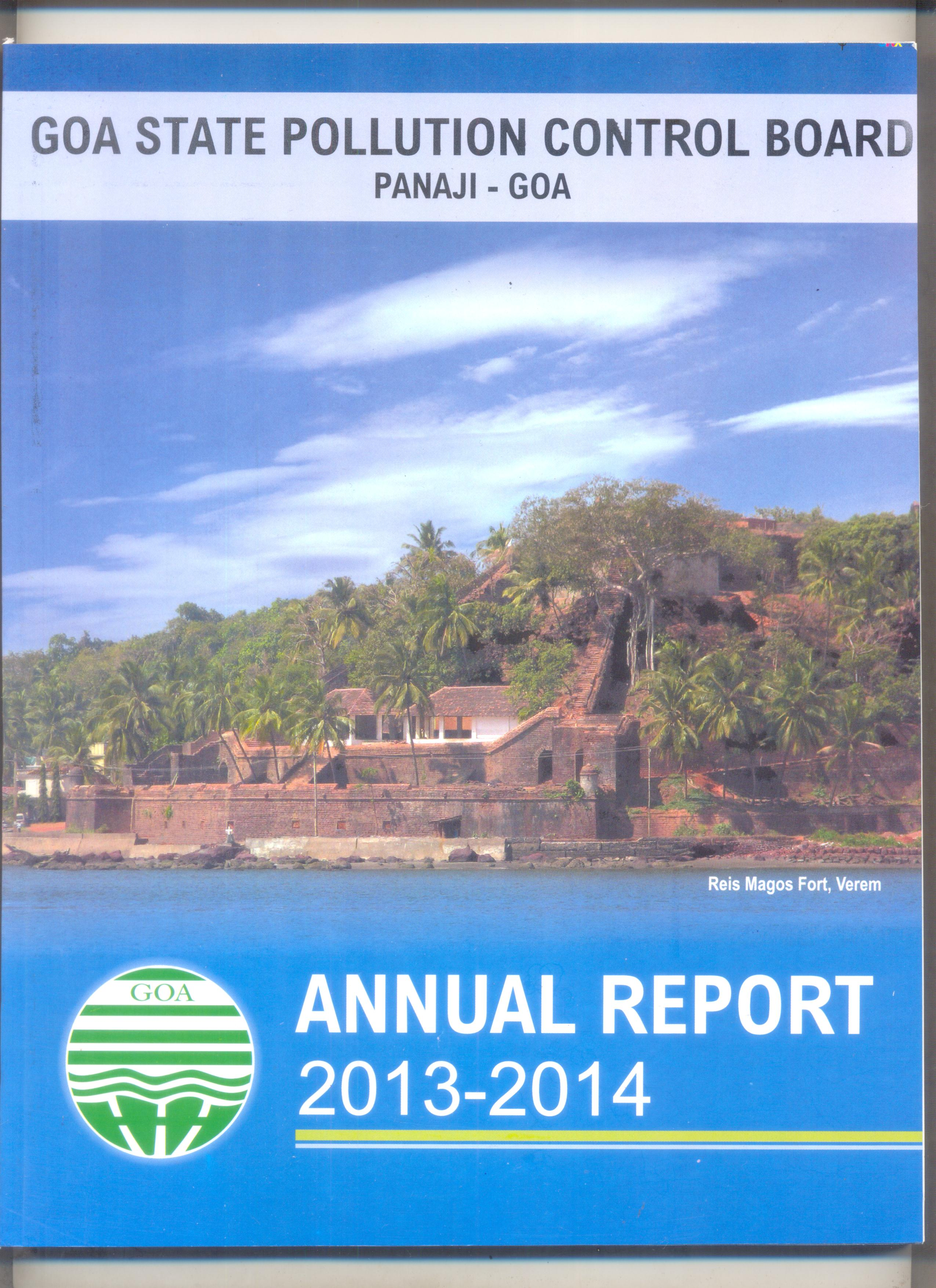 Annual 2013-14 Cover Page