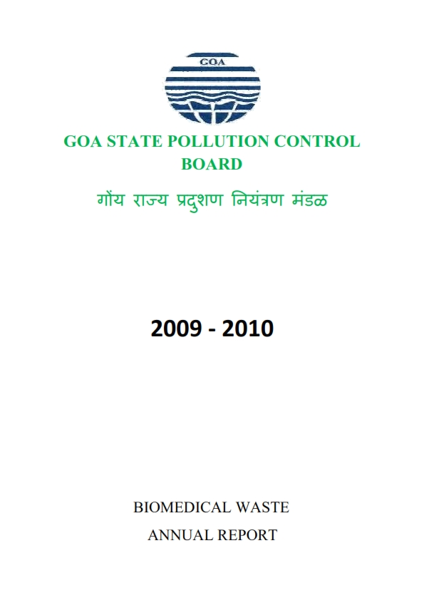 BIOMEDICAL WASTE  09-10