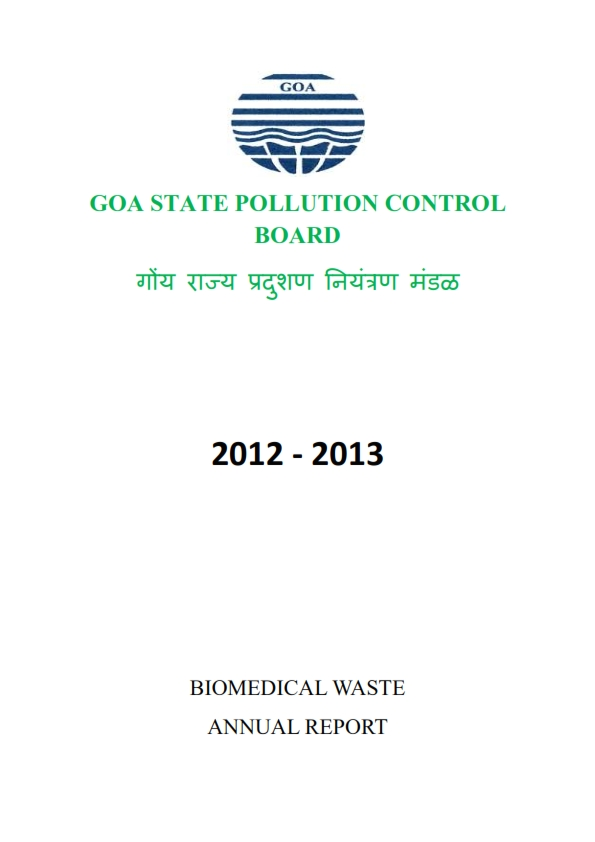 BIOMEDICAL WASTE 12-13