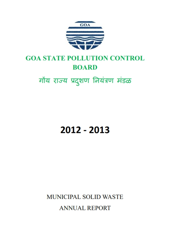 MUNICIPAL SOLID WASTE 12-13