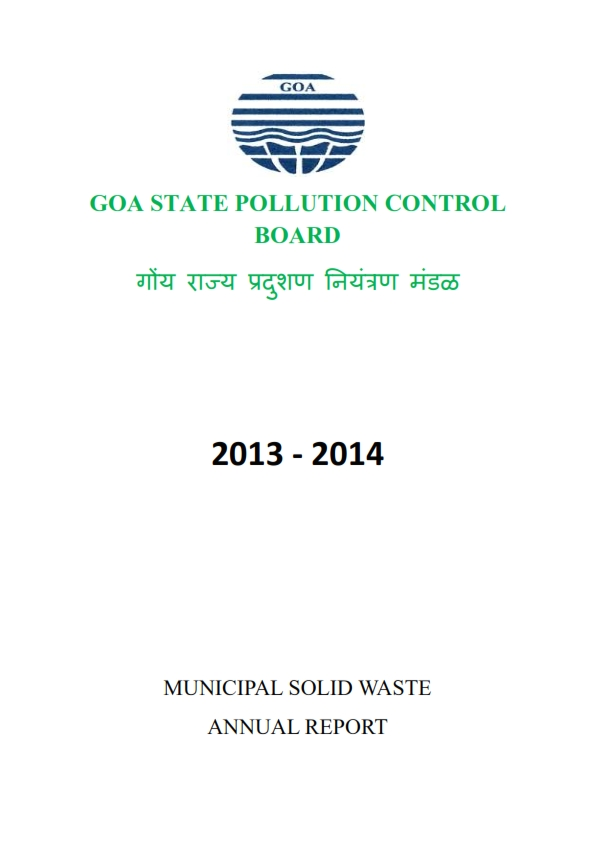 MUNICIPAL SOLID WASTE 13-14